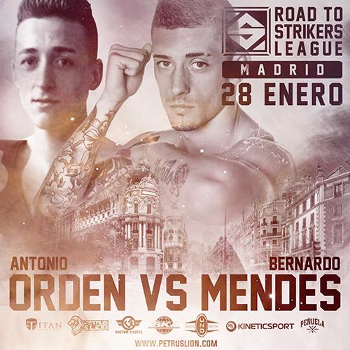 Road to Strikers League: Antonio Orden vs Bernardo Mendes