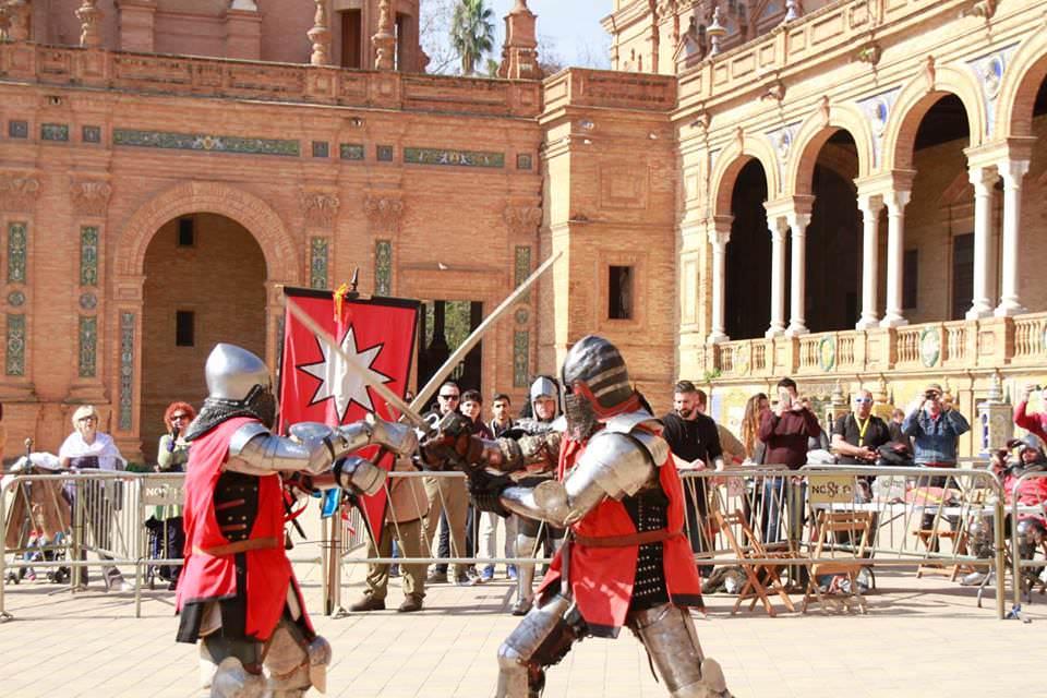 Duelo de la Liga Nacional de Combate Medieval