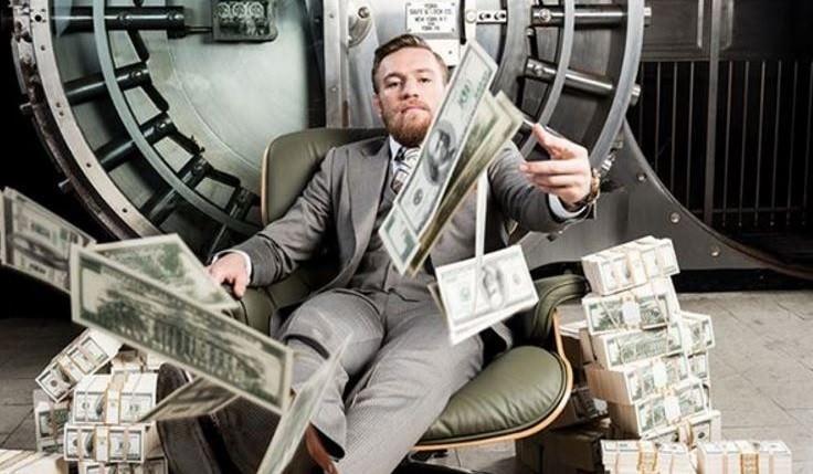 Mcgregor con dinero