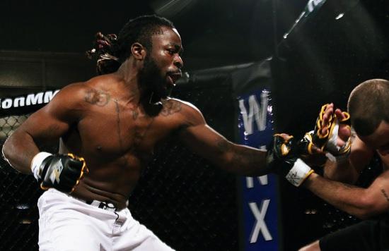 El hijo de Kimbo Slice en un combate