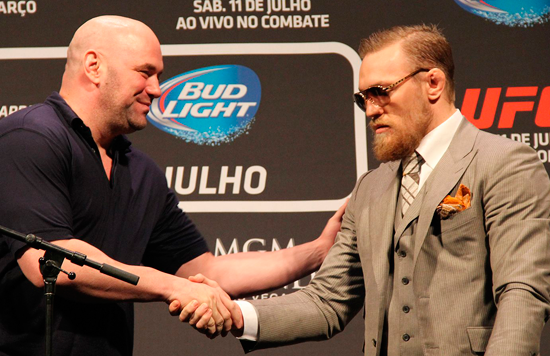 UFC: Dana White vs Conor McGregor