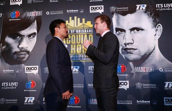 Boxeo: Manny Pacquiao defiende su cinturón ante Jeff Horn
