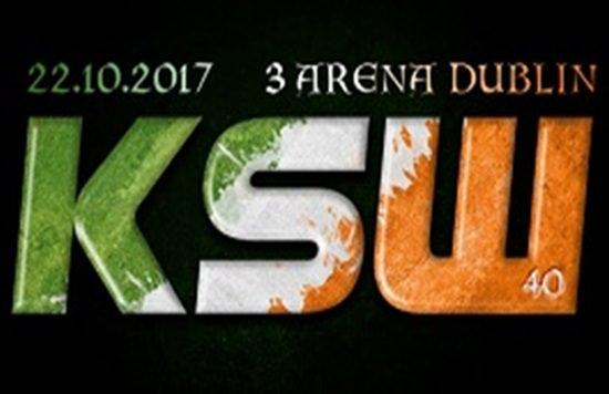 La exitosa promotora KSW llega a Dublín el próximo 22 de Octubre