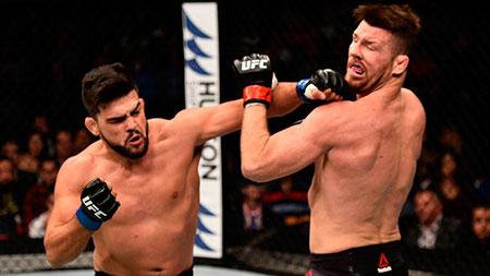 Gastelum noquea a Bisping en UFC