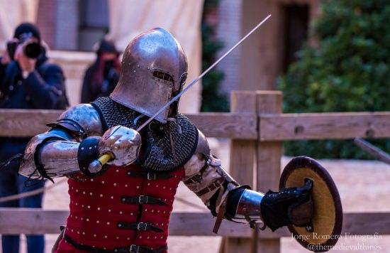 La lucha medieval de Belmonte