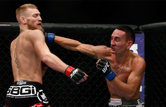 Posible enfrentamiento Conor McGregor y Max Holloeway