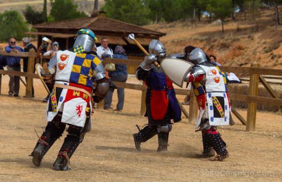 Los combates medievales llegan al Castillo de Belmonte