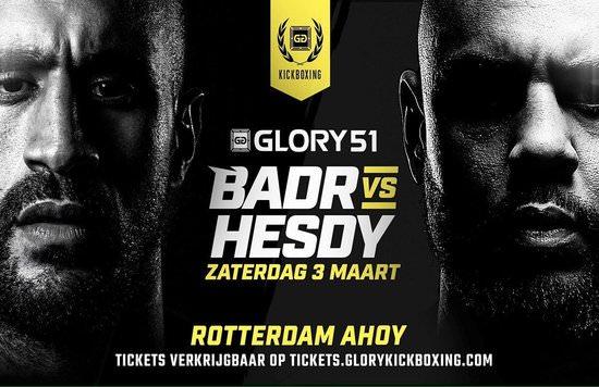 Badr Hari se enfrentará a Hesdy Gerges en GLORY 51