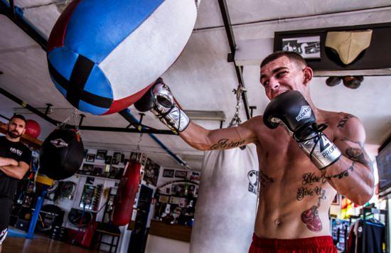 Jon Fernández luchará en EEUU el 7 de febrero
