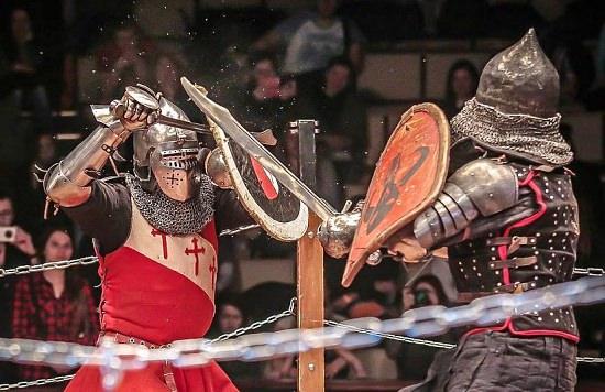 La espectacularidad de los Combates Medievales