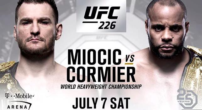 Cartel UFC 226