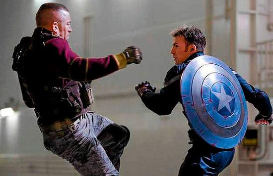 Capitán América vs GSP