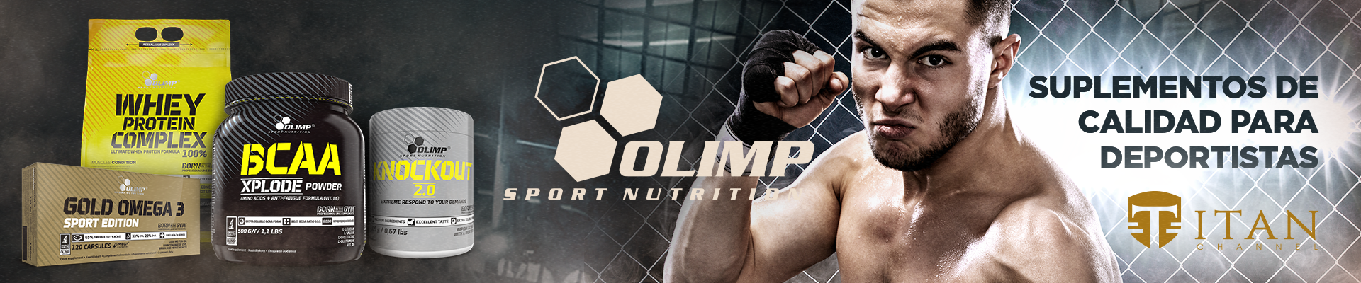 Banner oficial Olimp Sport Nutrition