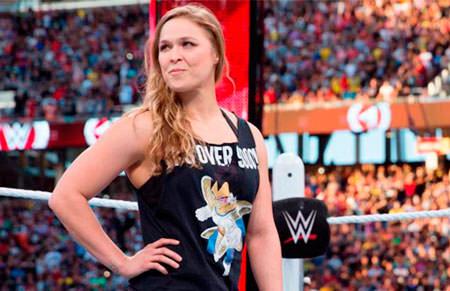 Ronda Rousey luchará en WrestleMania 34