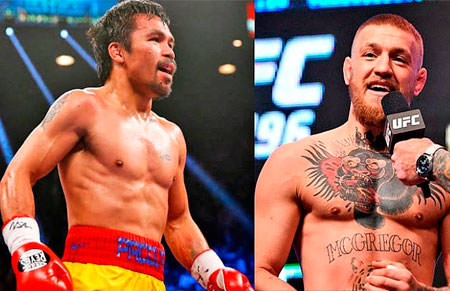 McGregor vs Manny Pacquiao