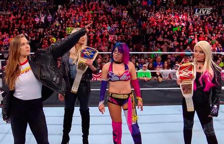 Cinco posibles rivales de Ronda Rousey en WrestleMania 34
