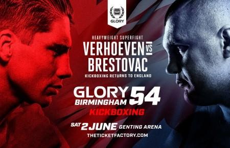 Verhoeven VS Brestovac en GLORY 54