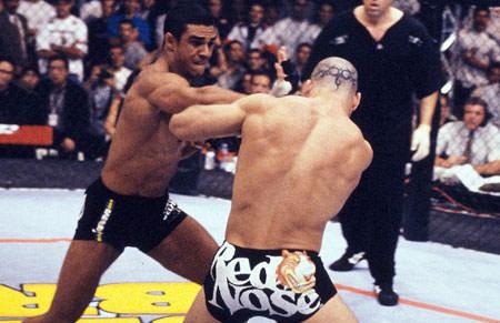 Belfort y Silva durante una pelea
