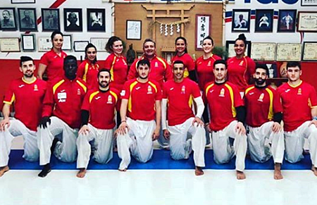 seleccion española karate