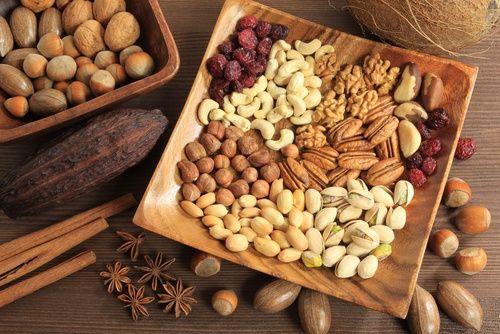 Antioxidantes naturales-frutos secos