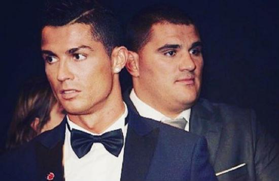 Cristiano Ronaldo utiliza a su amigo el luchador de MMA y un exmilitar como guardaespaldas