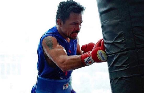 entrenamiento-Manny Pacquiao