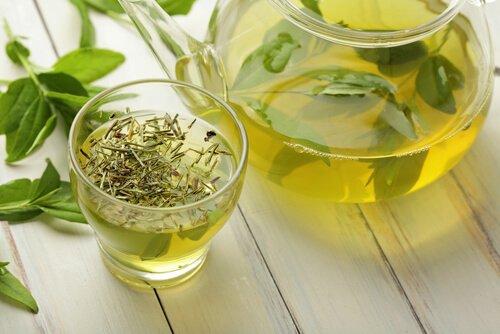 Antioxidantes naturales-té vede