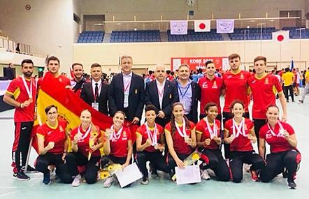 Noticias Kárate: El Kárate español triunfa en los Mundiales Universitarios