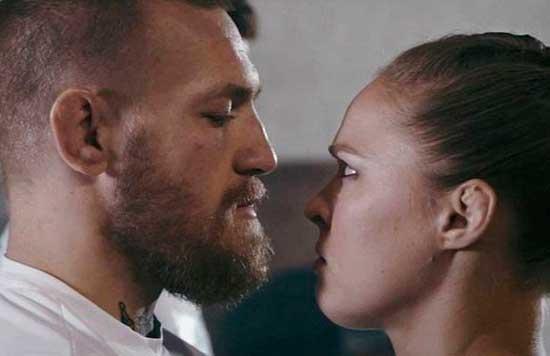 Conor McGregor y Ronda Rousey