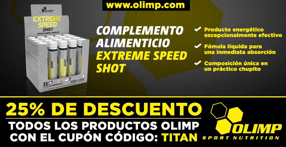 Complemento alimenticio Extreme Speed Shot