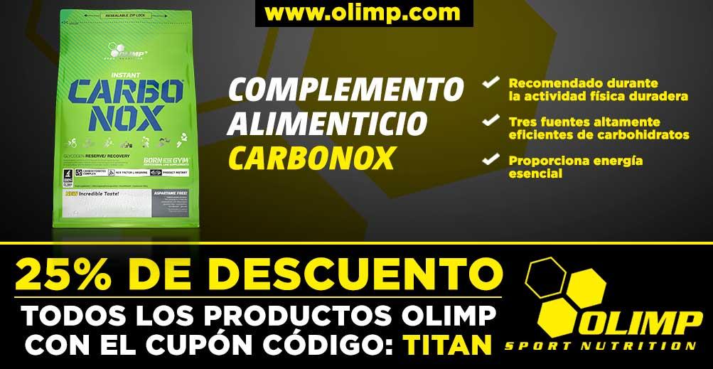 Complemento alimenticio Carbonox