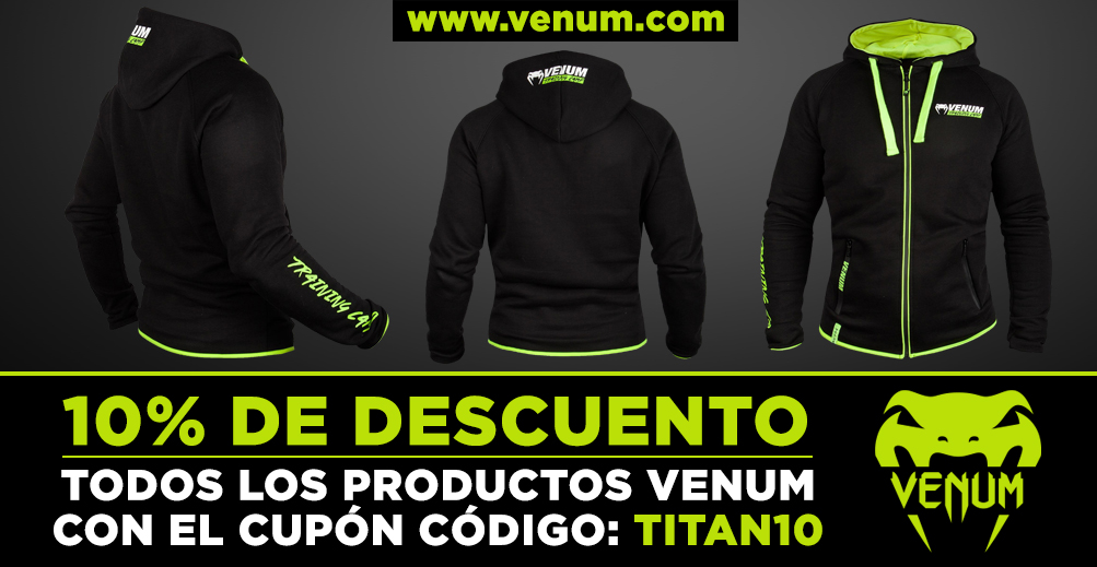 SUDADERA VENUM TRAINING CAMP