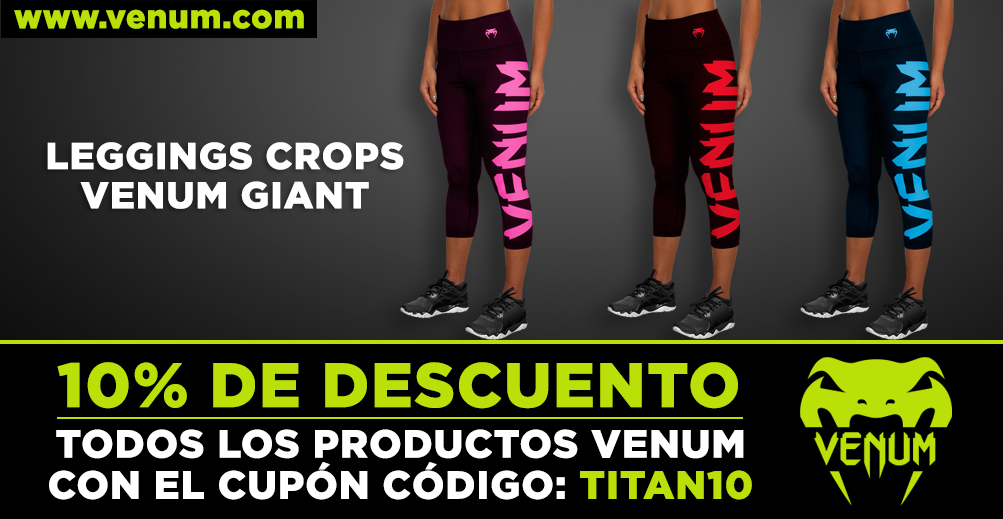 Leggings Crops Venum Giant