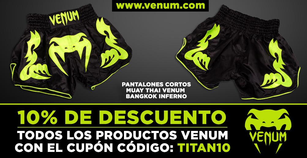 Pantalones de Muay Thai de Venum