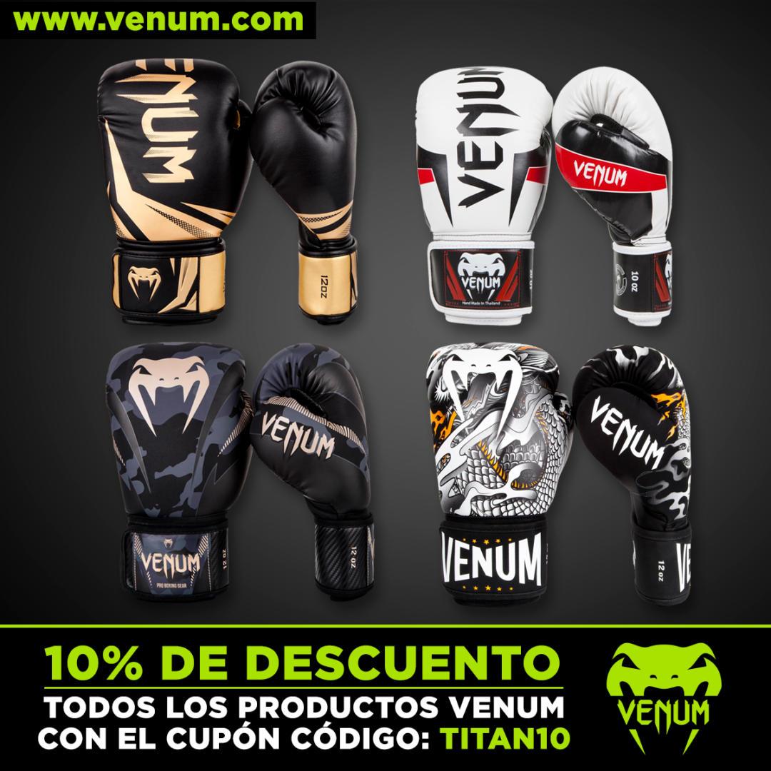 Venum, guantes de boxeo