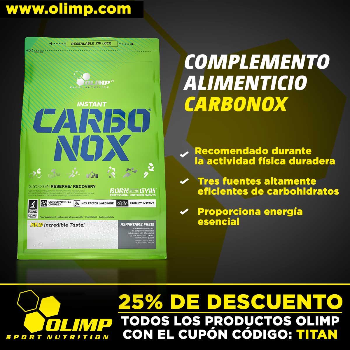 Carbonox de Olimp Sport Nutrition