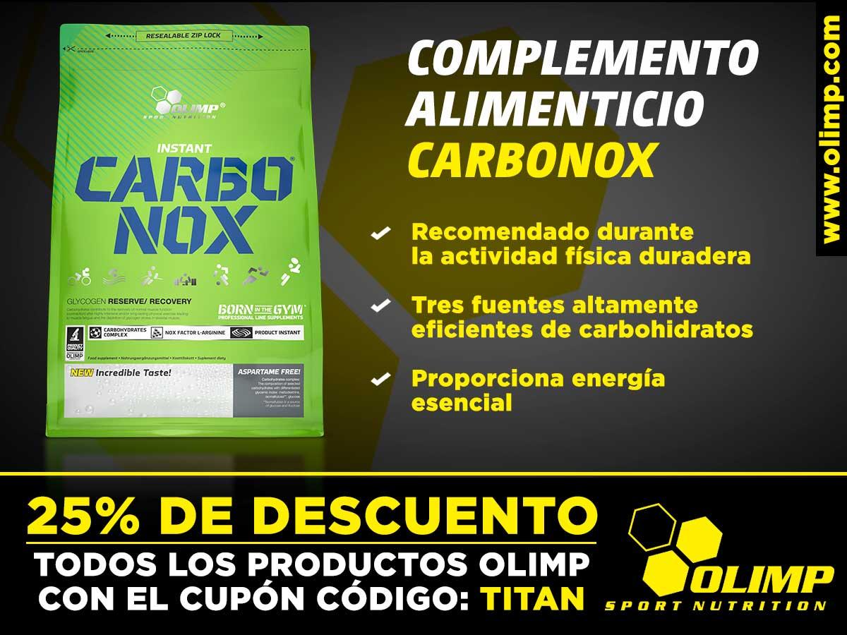 Carbonox, el complemento alimenticio de Olimp