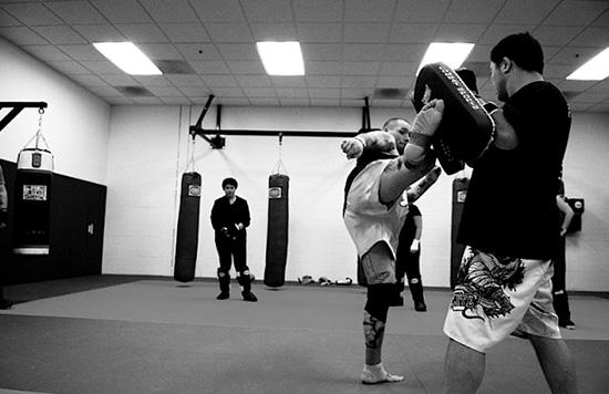 Entrenamiento MMA