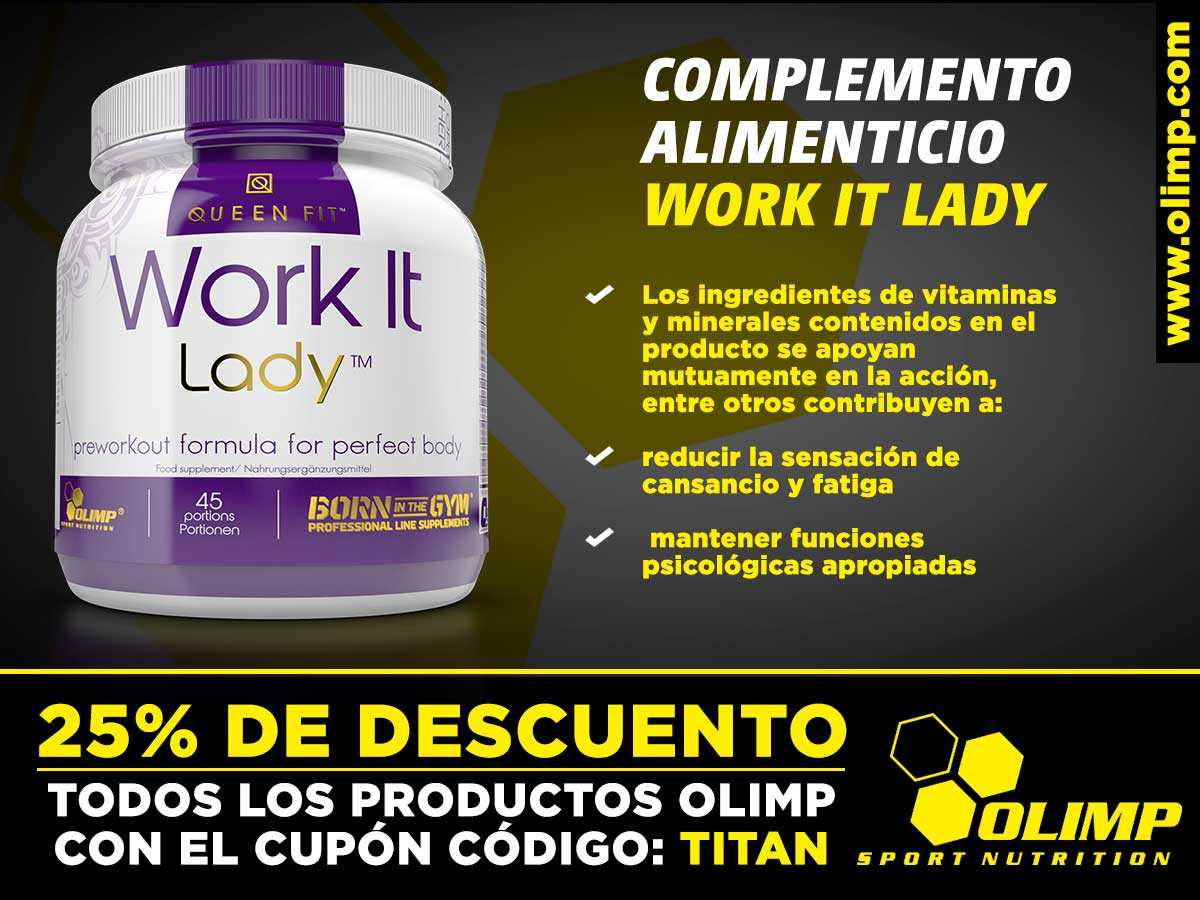 Work ir Lady el complemento alimenticio de Olimp