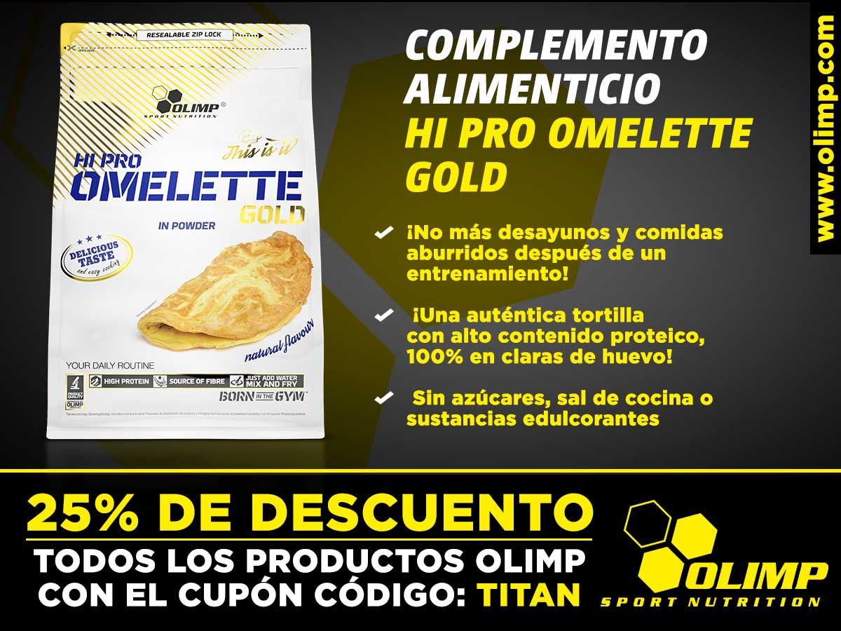 Complemento alimenticio de Olimp