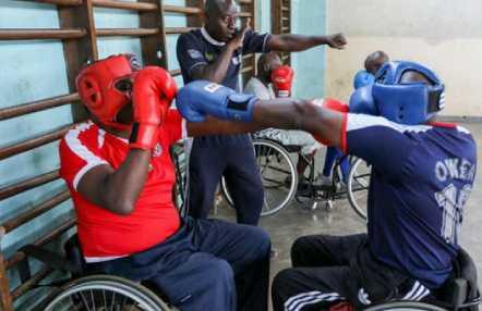 Boxeo- Juegos Paralímpico