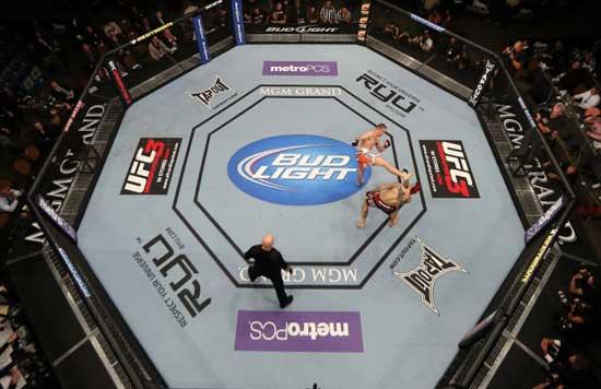El octágono de UFC