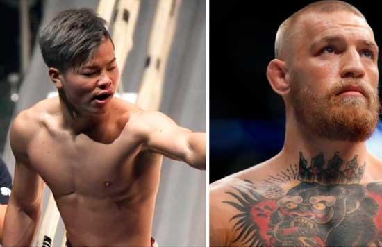 Tenshin Nasukawa ha respondido a Conor McGregor a través de su cuenta de Twitter