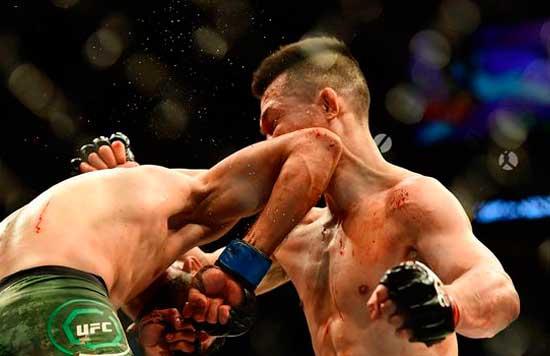 Yair Rodríguez ganó a Chan Sung Jun en UFC Fight Night 139