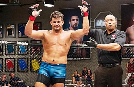 Juan Espino reta a Fabricio Werdum después de su combate en UFC 249