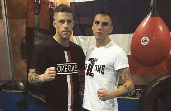 Alberto Gala y Jonathan Fabian