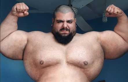 ¿Quién es Sajad Gharibi al que todos asocian con el personaje de cómic Hulk?