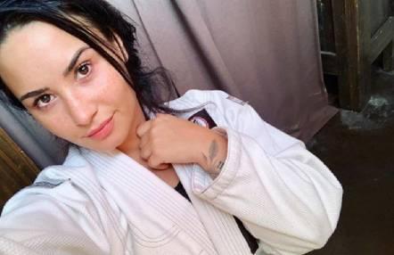 Demi Lovato se refugia en el Jiu Jitsu durante su recuperación