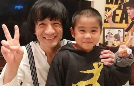 Ryusei Imai conocido como el pequeño Bruce Lee ya protagoniza encuentros con Jackie Chan