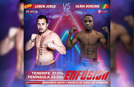 Loren Jorge, con 97 victorias en su carrera y 5 consecutivas, se enfrentará a Ulrik Bokeme